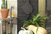 Fall Decor Modern / Fall, Thanksgiving, and Halloween Decor and Food