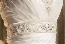 Rhinestones and Beading / Its all gone glitter, rhinestones and beading! Outlandish glamour is back on the agenda and its all embellished, gowns with a feel of luxury and attention to detail are making a a sparkly come back and we love it! / by bridal fashion