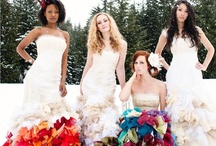 Coloured / Coloured Wedding Gowns / by bridal fashion