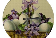 *** ART OF EASTER AND SPRING / Cute pictures that pertain to Easter or Spring. / by Dandy Mariella