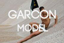 Garcon Model Underwear At BANG+STRIKE / Garcon Model at BANG+STRIKE