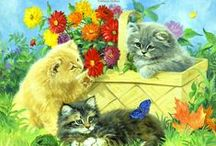 ART - Precious felines / The world of kitties in fine art and photography