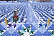 ART - Quiltscapes / Quilting with a paintbrush . . .