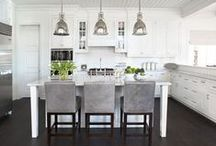 HOME: Kitchens & Dining Rooms / by Lexie Mitchell
