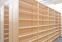 Lundia Shelving / Lundia's Static Shelving is built from plantation-grown, sustainably harvested Radiata Pine. Lundia Static Shelving units in natural timber finish; and Static shelving in natural timber with Melteca ends are Fully Certified - #sustainable Green Star Rated