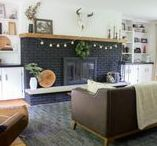 Living Room- Modern / Living Room Decorating and Inspiration, Modern Living Rooms, Dark and Moody Living Rooms