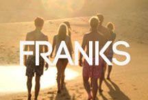 Franks Swimwear At BANG+STRIKE / Franks Swimwear is a cool surf wear range from the golden beaches of Australia. Available online at bangandstrike.com / by BANG+STRIKE