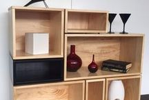 Lundia Home Storage / Custom made and modular furniture Lundia has a range of storage solutions for every room in your home... Mobile wardrobe system, Cubox, Ecobox, A4 Plus, for the Kids bedroom, Lounge, Garage any room you can think of!
