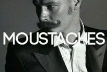 Moustaches / by BANG+STRIKE