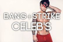 Celebrities Love BANG+STRIKE / Celebrities love BANG+STRIKE too! Here are some of the hottest celebs modelling some of the hottest pieces we stock on our site.