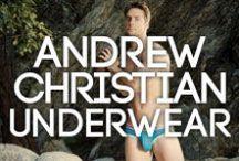 Andrew Christian Underwear At BANG+STRIKE / Andrew Christian Underwear & Clothing at BANG+STRIKE.