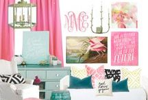 girly office / by Nesting Place