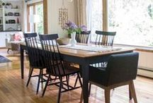 Dining Room- Vintage Modern / Dining Room Decor with a Vintage Modern Industrial Flair