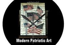 * ✰✰✰ MODERN PATRIOTIC ART ✰✰✰ / by Dandy Mariella