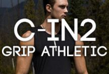 C-IN2 Grip Athletic range / The new sportswear range from c-in2 combines style with technical quality, making it one of the best ranges out for the active guy. Moisture-wicking fabric and climate-controlling panels help to keep you cool, and reflective strips keep you safe on the road! Read more about the range on the blog post here > http://www.bangandstrike.com/bangtalk/cin2-grip-athletic-sportswear/