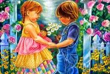ART - Love, the Greatest Gift / Romantic art for Valentine's Day and every day of the year