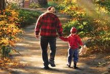 ART - Father/Grandfather/Child / Fathers and children in fine art