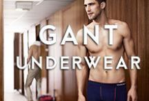 Gant / The GANT brand is one of the great American Heritage fashion lines along with Tommy Hilfiger and Ralph Lauren. Built around a preppy outside lifestyle in a fresh red, white and blue colour pallette with flagship stores in New York, London and Tokyo. GANT boxers and briefs have a classic but modern feel in cool cottons and athletic fits with naval colours and collegiate prints.