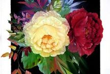 ART - Floral design / The beauty of flowers in floral design and garden landscapes