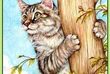 ARTIST - Cook, Debbie / Precious cats