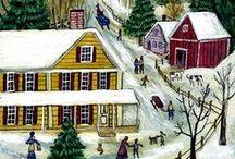 ARTIST - Munro, Janet / New England scenes