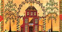 ARTIST - Bartley, Cheryl / Primitive folk art by Cheryl Bartley