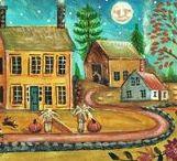 ARTIST - Derstine, Donna Lacey / Folk art of Donna Lacey Derstine
