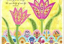 ART - Spring pastels