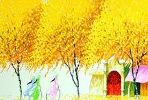 ART - Vietnamese / Colorful Asian landscapes by Vietnamese artists