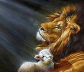 ART - Lion and lamb...