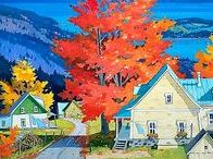 ART - O Canada! / Fine art & photography ... Beautiful scenery from our northern neighbor