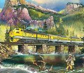 ART - Ridin' the rails