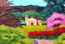 ART - Southwestern landscapes
