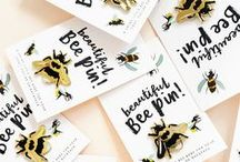 BeeUtiful / Bees all over everything