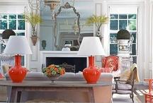 COLOR POP / #Interior Design #Color / by Terri Davis Art + Design