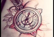 Tattoos / Inspiration for my next spot of ink. Mostly ships, compasses, and trees!