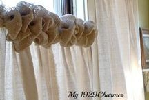 Curtain Inspiration / by 1929 Charmer Cottage