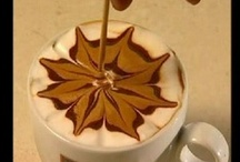 Coffee Art  .·:*¨¨*:·★ / by ✿⊱Tricia ♥·:*¨¨*:·♥ Wood ✿⊱