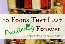 Food-Preservation, Pantry & Freezer / Food storage practices. / by Beth Robey