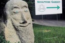 Forrest Dweller Sculpture Garden / The Forrest Dweller Sculpture Garden in Fearrington Village, North Carolina displays the work of Forrest C. Greenslade, PhD
