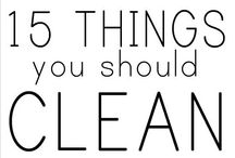 TIPS & TRICKS--Cleaning
