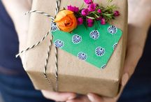 Cards and wrap