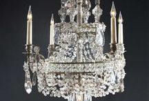 Chandelier Love  *♥ ✿⊱╮♥❤♥ / by ✿⊱Tricia ♥·:*¨¨*:·♥ Wood ✿⊱