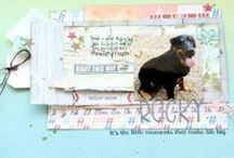 My scrapbooking  / My personal scrapbooking layouts. / by Amanda Case