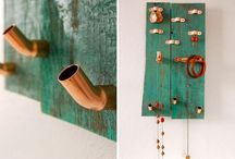 a home for your accessories / DIY project ideas for storing and displaying jewelry and accessories