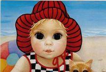 Margaret Keane  .·:*¨¨*:·.*♥ / by ✿⊱Tricia ♥·:*¨¨*:·♥ Wood ✿⊱