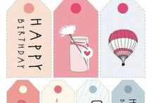 Cuteness in a box / Children decor ideas, illustrations, gift tags, logo design ideas