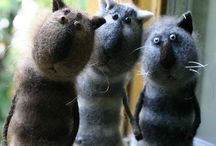 Felted Creatures & Dolls