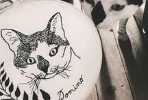 cat love * chat * ねこ / About cats and cute cat items and patterns!!! For cat lovers :)