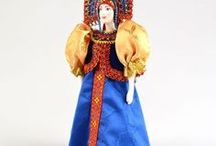 Russian Porcelain Dolls / Beautiful handmade, authentic dolls from Russia.